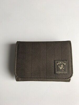 Genuine Porter Yoshida wallet Tough fabric folding