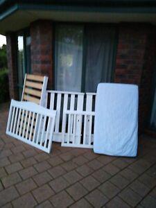 Boori Cot Bed White Wooden