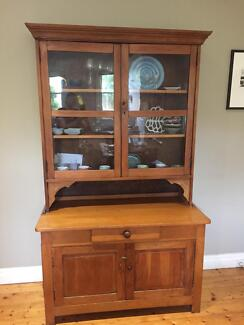 antique display cabinet country style buffet u0026 hutch