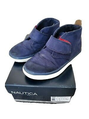 Nautica Boys Toddler Shoes Navy Blue Size 9 Dress Shoes
