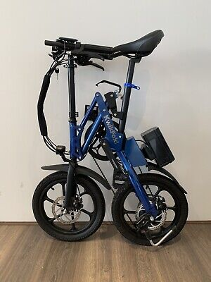 Kwikfold Xite-3A Folding Electric Bike ebike with Battery
