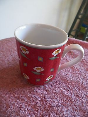Ava Red 2 available Villeroy and Boch mug