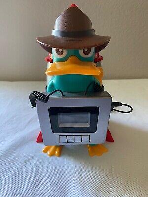 Phineas and FerbDisney Alarm Clock Radio PerryThe Platypus Unique Alarm Rocket