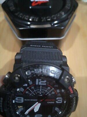 G-Shock Mudmaster GG-B100-1AER Watch - Black carbon