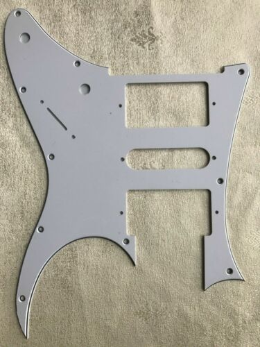 New 3 Ply Guitar Pickguard For Style Scratch Plate,White 03.12