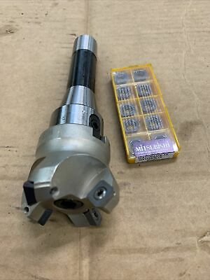 Shell Mill R8 2-14 Head With 10 Inserts