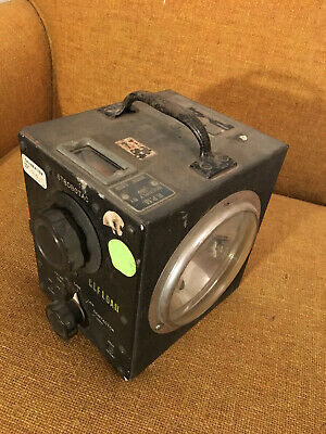 General Radio 631-b Strobotac Untested Us Navy Issued 6352