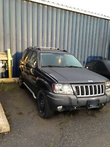 2004 Grand Cherokee 4.7  needs engine work