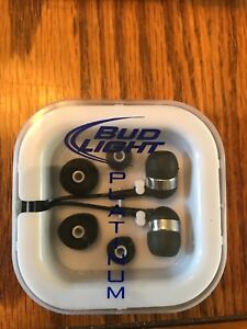 Bud light platinum headphones