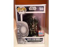 W//Protector Star Wars Rogue One Funko POP #189 Death Star Droid