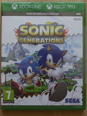 Sonic Generations For XBox 360 & Xbox One (New & Sealed)