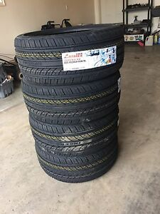 BrAND new 225/40/18 Antares all season tires never used $460 OBo