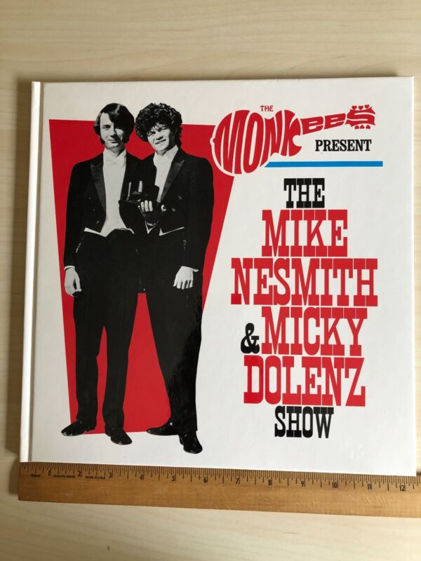 2018 THE MONKEES AUTHENTIC - HARDBACK VIP - 32 PAGE TOUR BOOK - NOT AUTOGRAPHED!