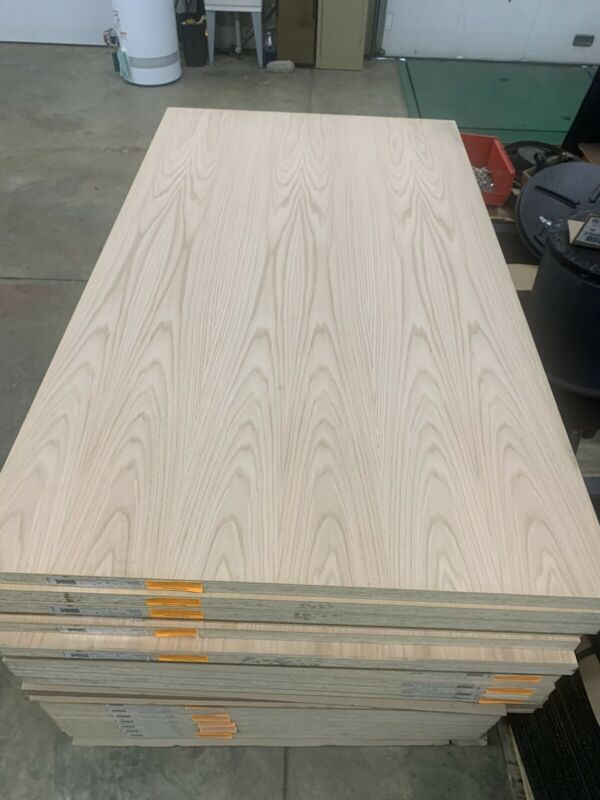 Commercial Red Oak Interior Solid Core Wood Door Blanks Pre-Fit Beveled 4