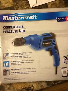 Master craft crowded drill