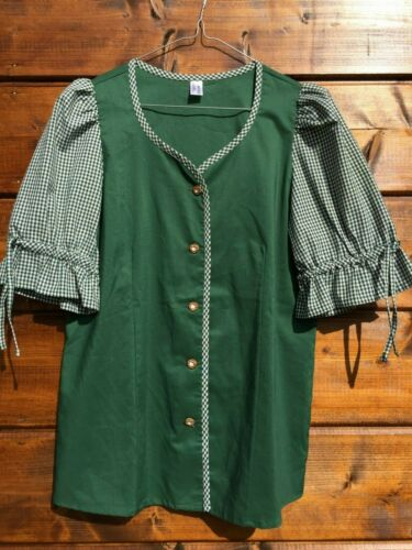 Traditional Bavarian Oktoberfest Dirndl blouse