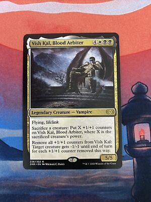 Magic the Gathering MTG Vish Kal, Blood Arbiter Double Masters NM
