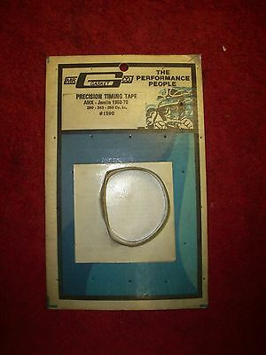 Vintage 1970's NOS Mr Gasket Precision Timing Tape org pkg AMC AMX 290 343 390