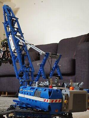 LEGO 42042 Technic Crawler Crane 2015 100% complete PERFECT CONDITION