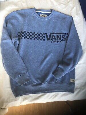 Vans Mens Sweater Jumper Medium