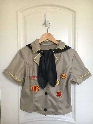 Women's Halloween Costume Sex Council Girl Scout Top With Sailor Scarf Size M/L](Halloween Council)