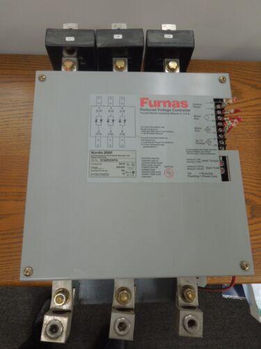 Furnas Nordic 2000 91QD32AFA 60/75hp 200/230V Soft Starter Used