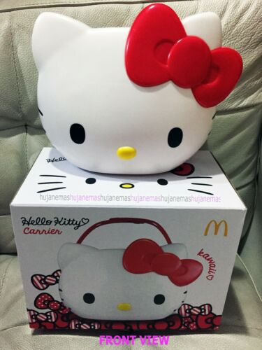 McDonalds HELLO KITTY Sanrio CARRIER BASKET MALAYSIA LIMITED EDITION FREE SHIP