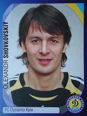 PANINI 452 OLEXANDR SHOVKOVSKIY DYNAMO KYIV KIEW UEFA CL 2007 08