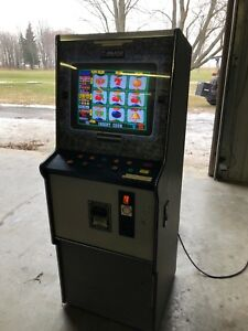 Vintage 80's Adult Slot Machine