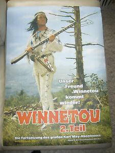 Winnetou: Vorankündigung Winnetou 2. Teil Filmplakat REPRO