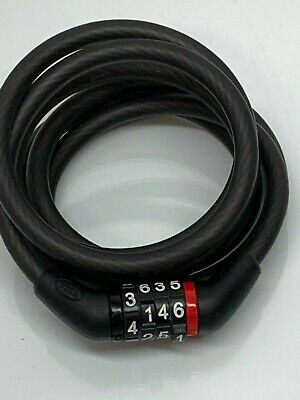 Anti-Theft Bike Lock Stainless Steel Cable For Bike Security Lock With 2Key KW