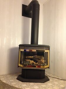 Gas fire place 799$