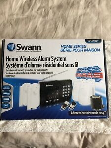 Swann SW347-WA2 Wireless Home Alarm System - 2 Remote Controls