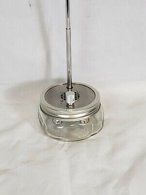 BALL MASON JAR - Public Radio Single Station Tuner - Fully Operational NICE (Single Mason Jars)