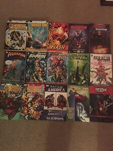 Brand new Marvel and DC graphic novels very cheap!!
