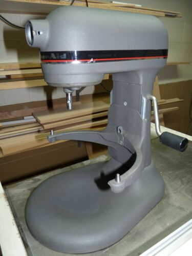 KitchenAid Series 600 Professional 6 Quart Stand Mixer No Attachments Bowl Gray
