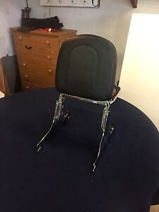 Harley quick detach backrest  with luggage rack