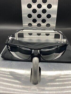 ☀️Oakley Gauge 8 Matte Black Frame Prizm Black Polarized Lenses NWOT Free S/H