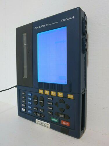 Yokogawa OR122-2-S2-PM OR100E Handy Oscillographic Recorder w/ Bag & AC Adapter