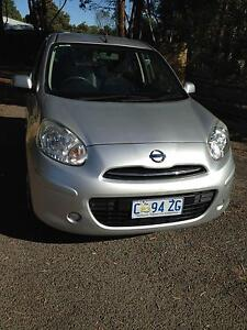 2012 Nissan Micra Hatchback Launceston Launceston Area Preview