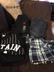 Boys size 4-5 lot