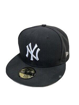 New York Yankees Cap 59fifty New Era Grey Mens Hat