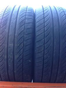 Two tires 235/60r16 lots of tread $50