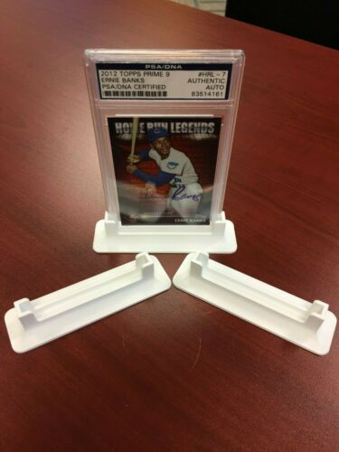 PSA REGULAR THICKNESS Display Graded Card Stand Showcase WHITE