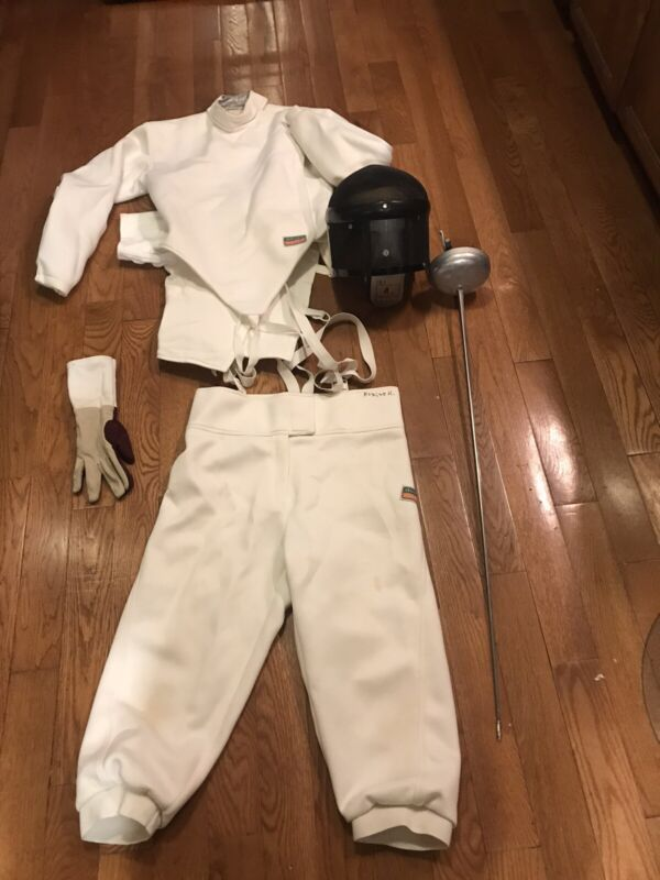 Absolute Fencing Gear Medium With Germany Sword Foil & Bag