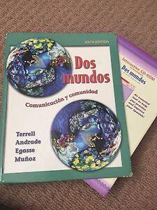 Text book - Dos Mundos Comunicación y comunidad (6th ed) Yeronga Brisbane South West Preview