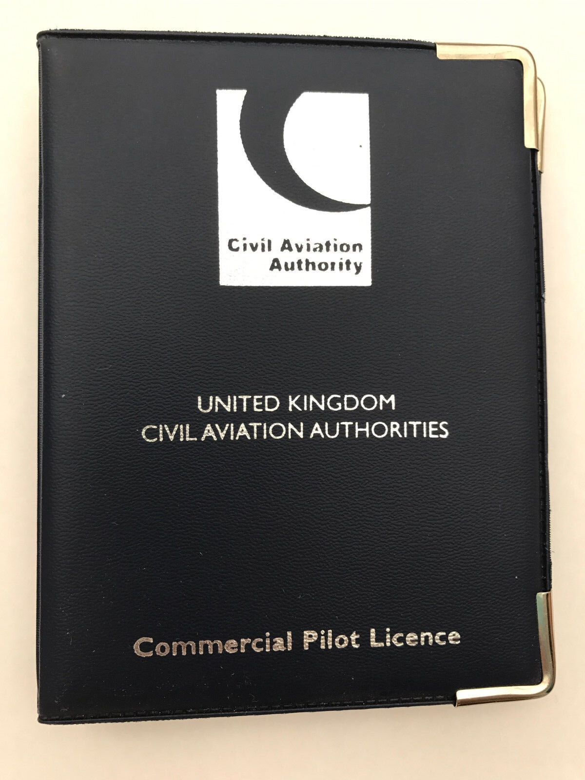 CAA Commercial Pilot Licence Holder Navy Blue [263081274320 ...