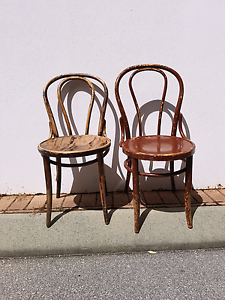2 Bentwood chairs. Vintage & iconic. Myaree Melville Area Preview