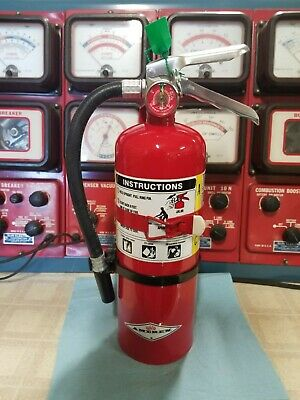 Amerex B402 5lb Abc Dry Chemical Fire Extinguisher Fully Charged W 818 Cg Veh Mt