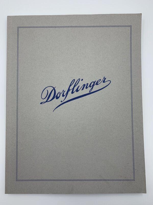 Dorflinger Cut Glass Catalog Line Drawings American Cut Glass Association